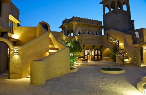 Mihir Garh Courtyard